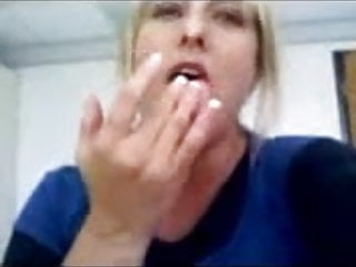 My friends mom fingering for me