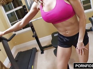 Preview 3 of PORNFIDELITY - Cougar Queen Brandi Love Fucks Young Stud