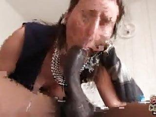 Mature aunty Lara takes BBC like crazy