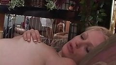 Lucky anal slutboy loves to suck strapon dick before getting his asshole fucked