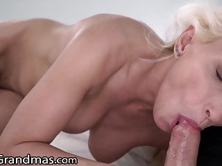 LustyGrandmas Hot GILF Fucks her Yoga Teacher