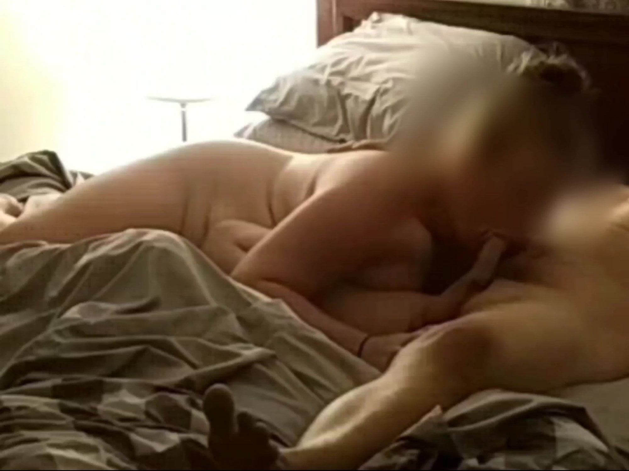 Spouse sucking cock