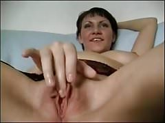 Horny MILF Uses A Rolling Pin
