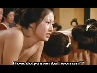 Japanese Harem Ass Feathering Orgasm To Concubine Whores