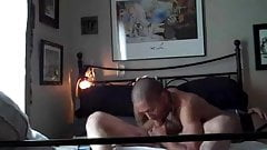 Dom Dad's Service Before He Service His Ass