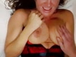 Fun-loving wife fucks for husband's camera