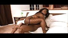 BBW Kitten Black Gets Her Thighs Rocked!