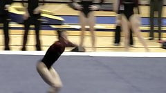 Talented Gymnast Has A Great Ass