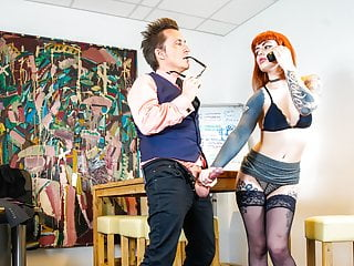 Bums Buero Inked Ginger Minx Pounded By Boss