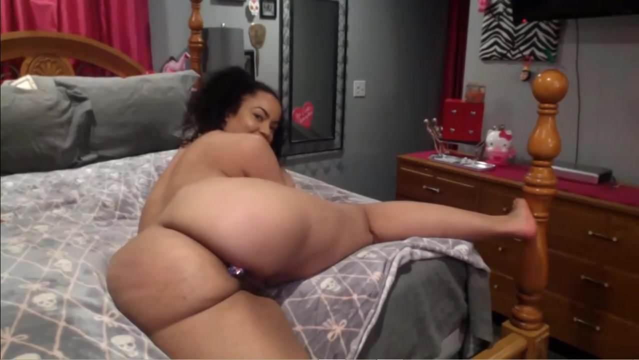 Black girl butt plug-7471