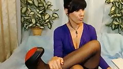 Lexy in foot show