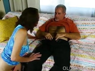 Super sexy old spunker is such a hot fuck