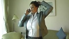 secretary tits