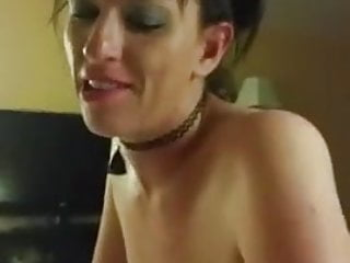Amazing Slut Choking in His Cock