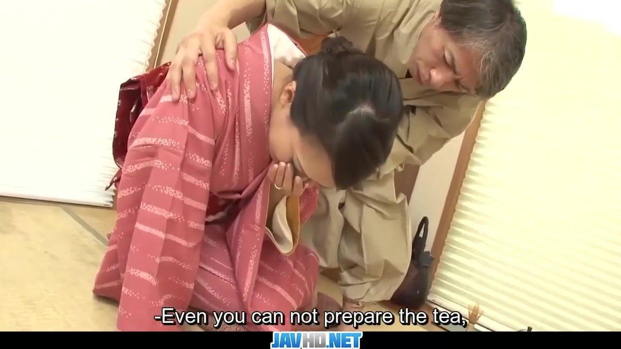 柳田やよい 着物着衣のくびれ巨乳の美人人妻がバックで中出しされて精子垂れ流しwww