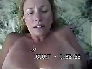 Hot MILF get's fucked, hairy pussy, big tits, cumshot