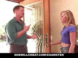 SheWillCheat - Slutty Wife Railed By Internet Guy