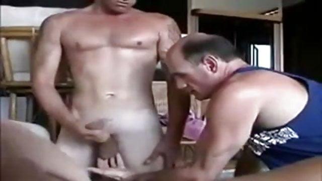 Bi sexual men arse nailed