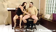 Passionate brunette is great at cock pleasing.mp4's Thumb