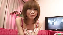 Sweet blowjob session with hot Yuu Mahiru
