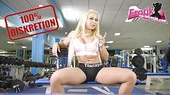 German ebony teen dislike anal in her tight small ass fuck