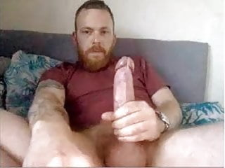 Gorgeous Bristish Str8 Daddy with Perfect Cock cums #180