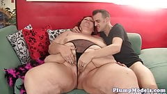 Doggystyle loving bbw gets a hard pounding