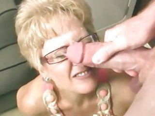 sexy granny sucks young cock