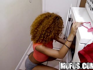 Preview 1 of Ebony Sex Tapes - Horny Couple Sneak a Dicking starring  Ken