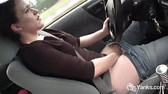 Yanks Lou Lebonne Cums in the Car