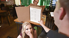 Cunningly Kinky Date Swap with Huge Boobs Blonde