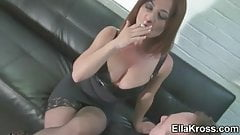 Ella Kross:Slaves Make Good Ashtrays!