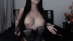 Shemale beauty masturbating webcam