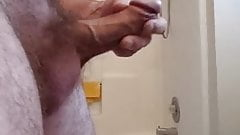 cbt hammer to my curved thick small dick shaft