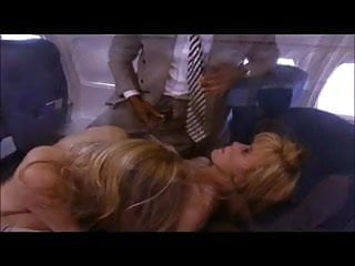 Ginger Lynn & Juli Ashton on a plane