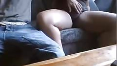 Couple playing on cam