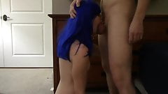Snaphooked to his cockring