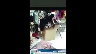Indian Uncle At Shop Hidden Camera