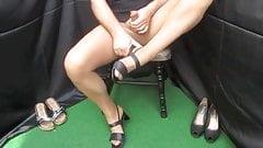 Cumshots Nylon Stockings Strapse Foot Fetish X33