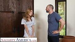Шаловливая Америка, Anya Olsen, соблазняет папу своего друга