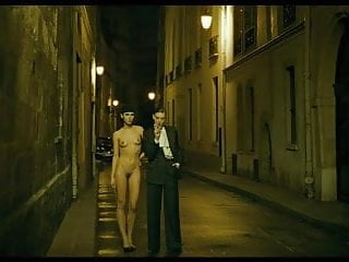 nude girl on the streets - movie saint-laurent