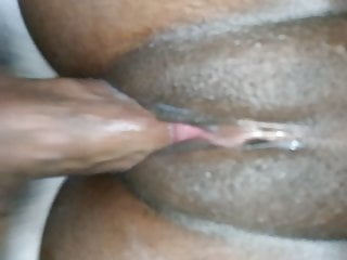 18yr old ebony beauty pussy close-up