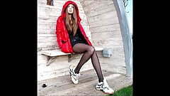 Candid Teens in Nylon Pantyhose they will drive you crazy 5