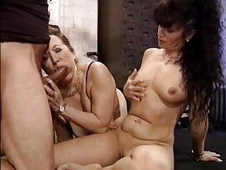 Two mature ladies, one lucky guy