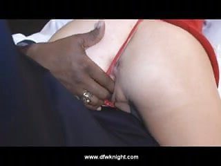 Big blondle tits - Hubby goes next