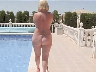Mom In The Pool