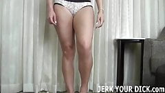 I want to see you jerk that big cock of yours JOI