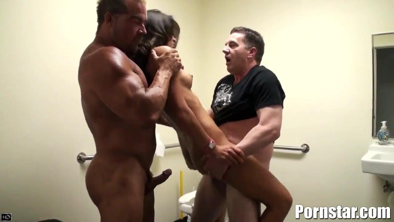 The Skanky Aj Estrada Gets Her Holes Banged Rough