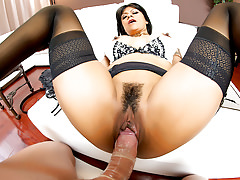 PornGoesPro - Latina Gabby Quinteros pounded by a big dick