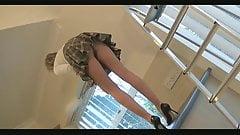 Housewife Pantyhose Upskirt